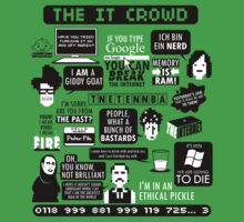 The IT Crowd Quotes by Tom Trager