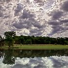 Clouds On the Pond by Kathy Weaver