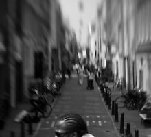 Cyclist by John Violet