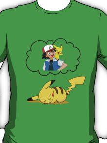 Dreaming Pikachu T-Shirt