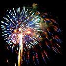 July 4th Fireworks by Buckwhite