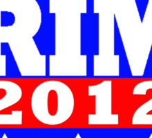 Vote Prime 2012 Sticker
