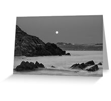 Church Bay Moonrise Greeting Card