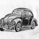 '60 VW Beetle - Classic Car by BigBlue222