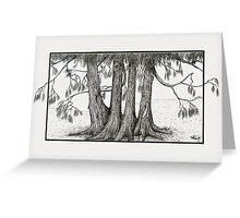 Linden Trees Greeting Card