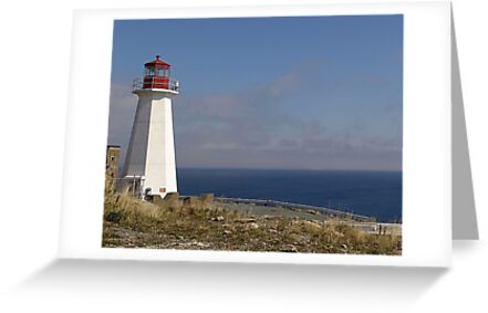 Lighthouse, Chebucto Head by George Cousins