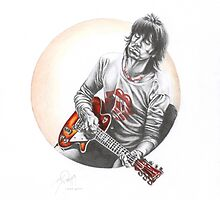 KEEF (Keith Richards) by Marty  Parker