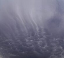 Mammatus Cloud - Ominus looking by Ann Warrenton
