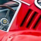 Ferrari Steering Wheel by Jill Reger