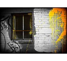 """Candied Yellow Decadence"" North Denver, CO Photographic Print"