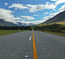 New Zealand Highway by 104paul