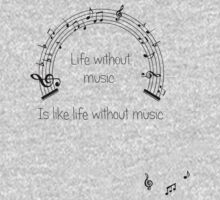Life without music... Kids Clothes