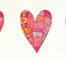 Three hearts by vimasi