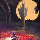 Harvest Moon by Tom Godfrey