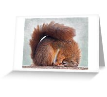 So is this what they call the Lotus Position? Greeting Card