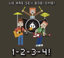 WE ARE SEX BOB-OMB! 8-BIT - Scott Pilgrim by Alexander Wilson