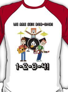 WE ARE SEX BOB-OMB! 8-BIT - Scott Pilgrim T-Shirt
