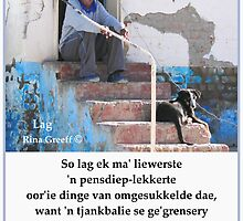 Kontrei Kiekies - Lag by Rina Greeff