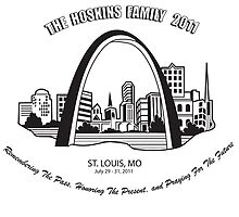 Hoskins Family 2011 T-Shirt Design by slim6