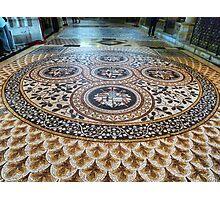 Mosaic Floor Photographic Print