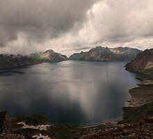 A sacred lake by Patrick Monnier