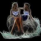 Gemini - The Zodiac by Liane Pinel by Liane Pinel