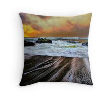 Smelt Sands Throw Pillow