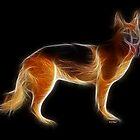 Dog - Chinese Zodiac by Liane Pinel by Liane Pinel