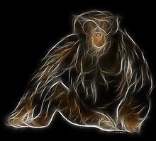 Monkey - Chinese Zodiac by Liane Pinel by Liane Pinel