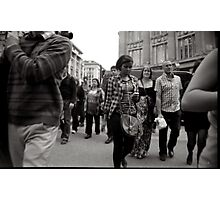 Central london street photography Photographic Print