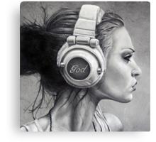 LISTEN Canvas Print
