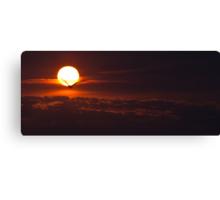 Lake Ontario sunrise  Canvas Print