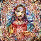 Sacred Heart Jesus by Simon Currell