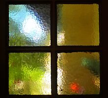 The Back Door Window by ©The Creative  Minds