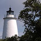 Ocracoke Lighthouse by Sandy Woolard