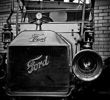 Ford Of Old  by David  Preston