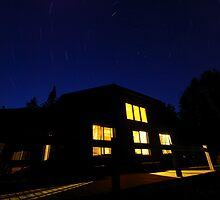 Star Gazing at Johns Brook Lodge by SAJONES
