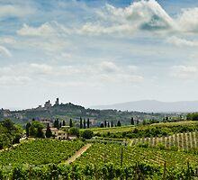 San Gimignano, Tuscany, Italy by Mark Howells-Mead