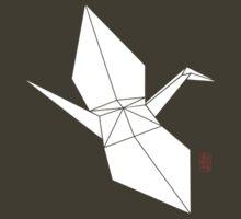 Origami Crane by 73553