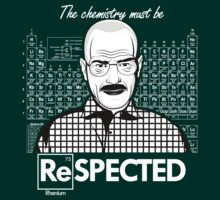 Chemistry Must Be Respected | Breaking Bad by Tom Trager