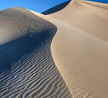 Mesquite Sand Dunes (Death Valley, California) by Brendon Perkins