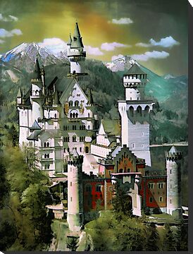 Schloss(Castle) Neuschwanstein by andy551