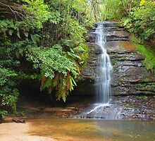 Leura waterfall - Leura by CW-Photography
