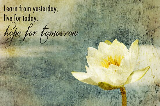 Hope For Tomorrow by Franchesca Cox