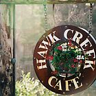 Hawk Creek Cafe. Neskowin, Oregon. by Christina Weber