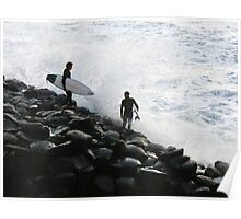 Crazy Surfers Poster