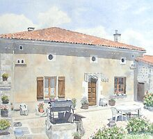 Commission - House, Charente by ian osborne