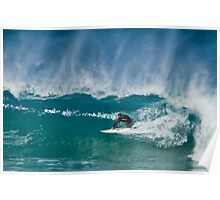 Close Out - Maroubra Beach - Sydney - Australia Poster
