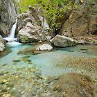 Waterfall in Greece, Taygetos mountain. by nickthegreek82