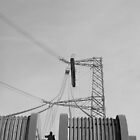 &quot;Stringing an Overhead Line Tower&quot; by Jimmy Deas